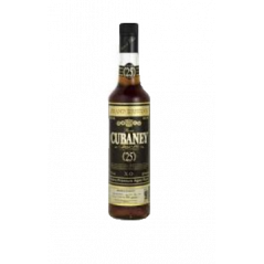 RUM CUBANEY 25 YEARS CL.70